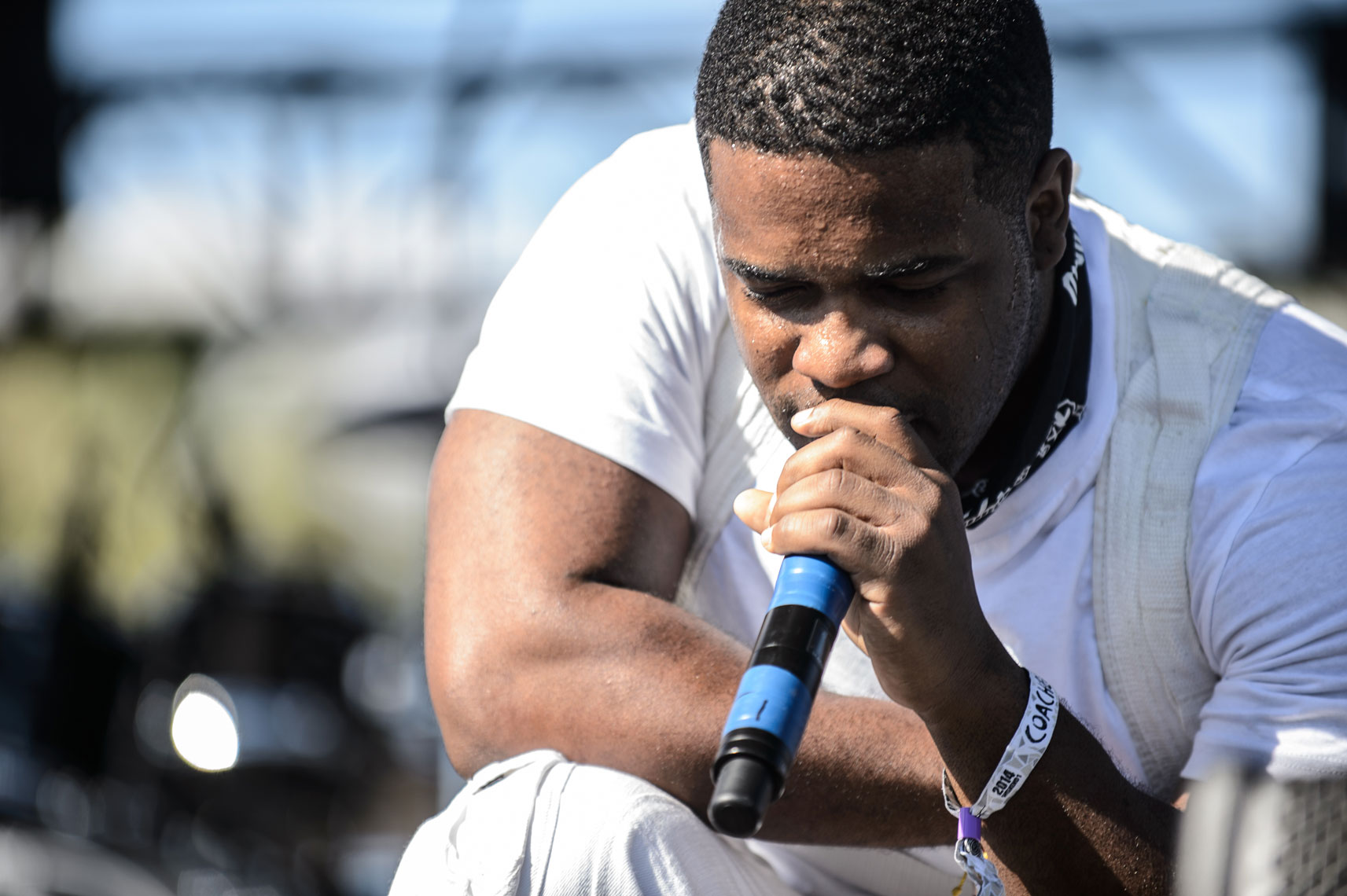 A$AP Ferg at Coachella 2014