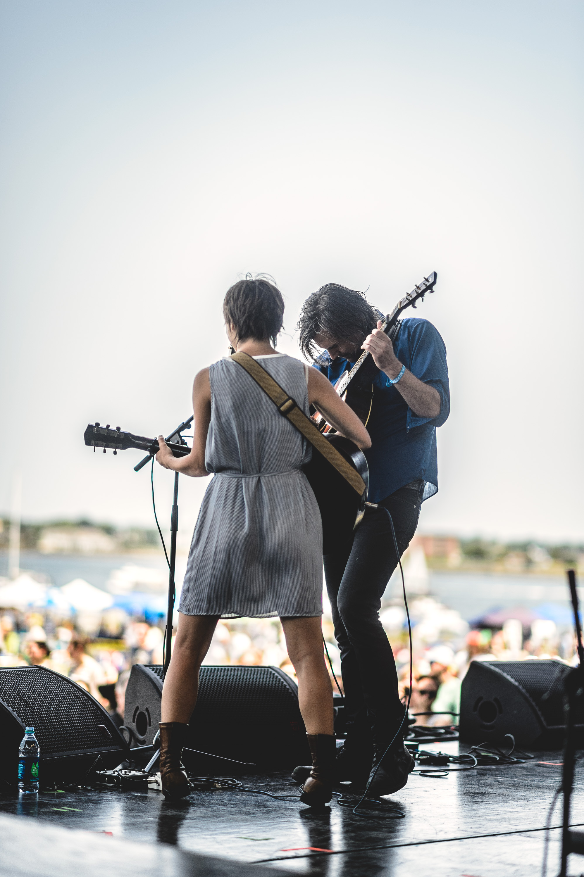 Anais Mitchell & Jefferson Hamer perform at the 2014 Newport Folk Festival-3