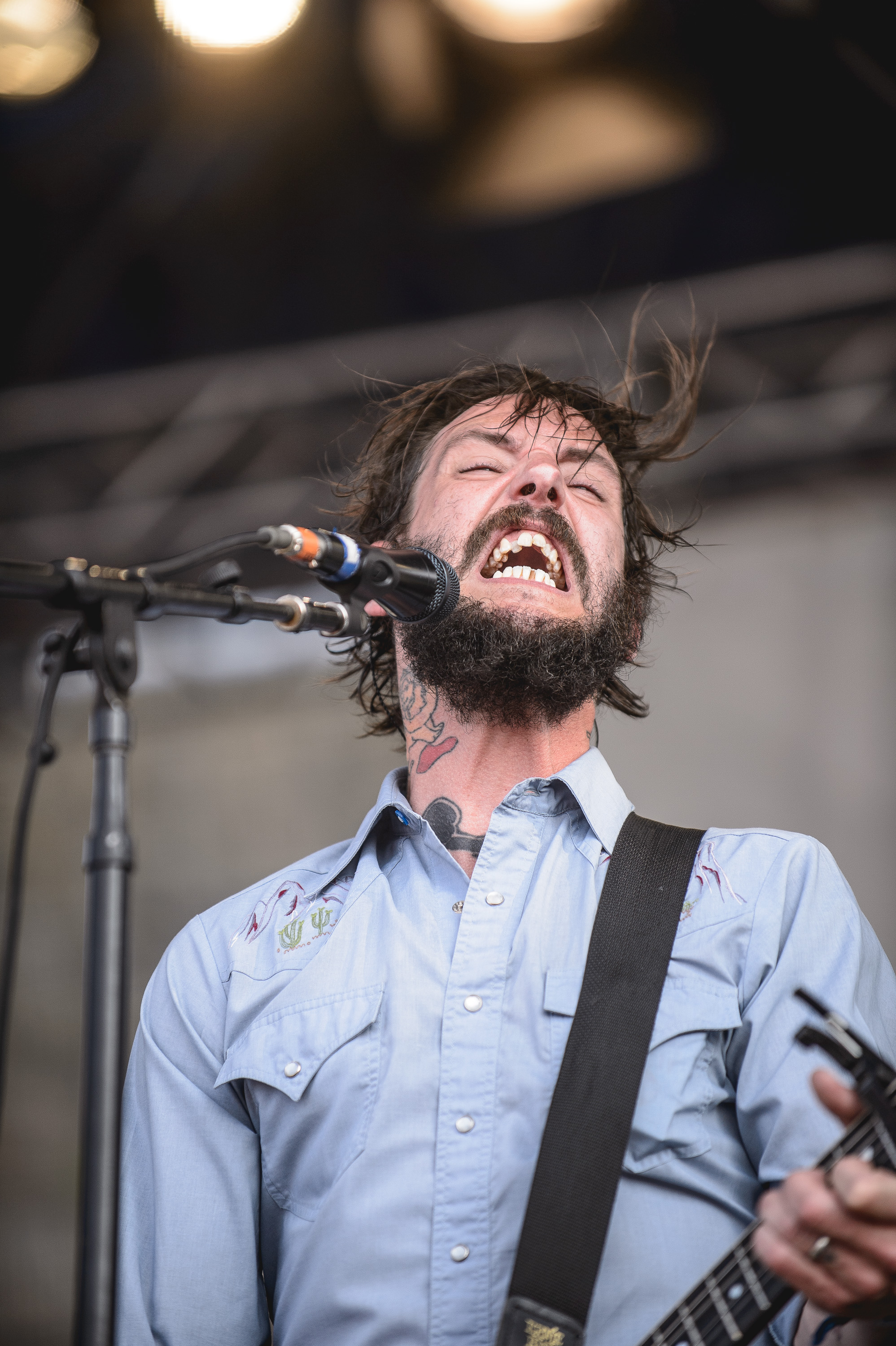Band of Horses performs at the 2014 Newport Folk Festival-2