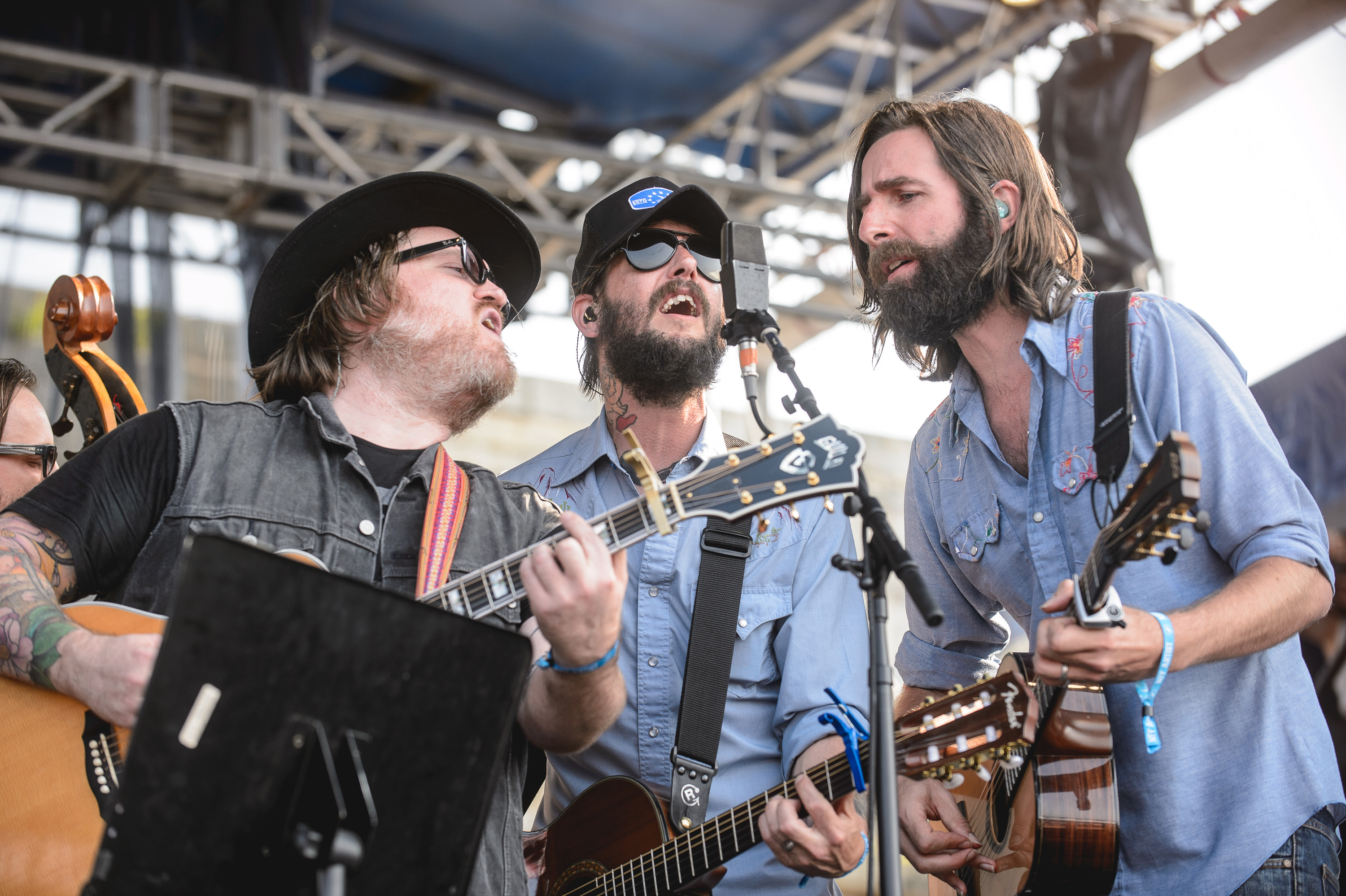 Band of Horses performs at the 2014 Newport Folk Festival-6