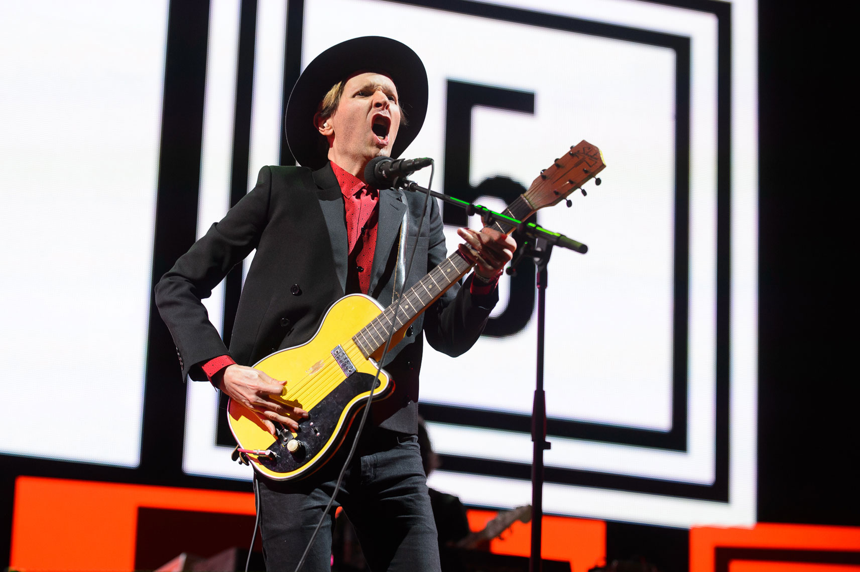 Beck at Coachella 2014