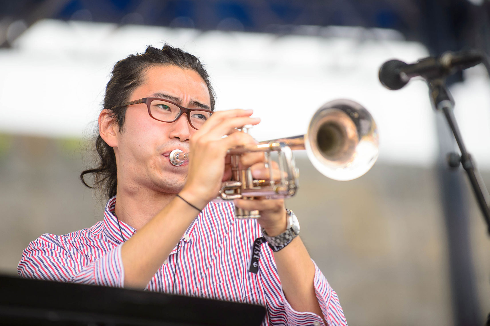 Berklee-Global-Jazz-Ambassadors-featuring-David-Sanchez-performs-at-the-2014-Newport-Jazz-Festival-2
