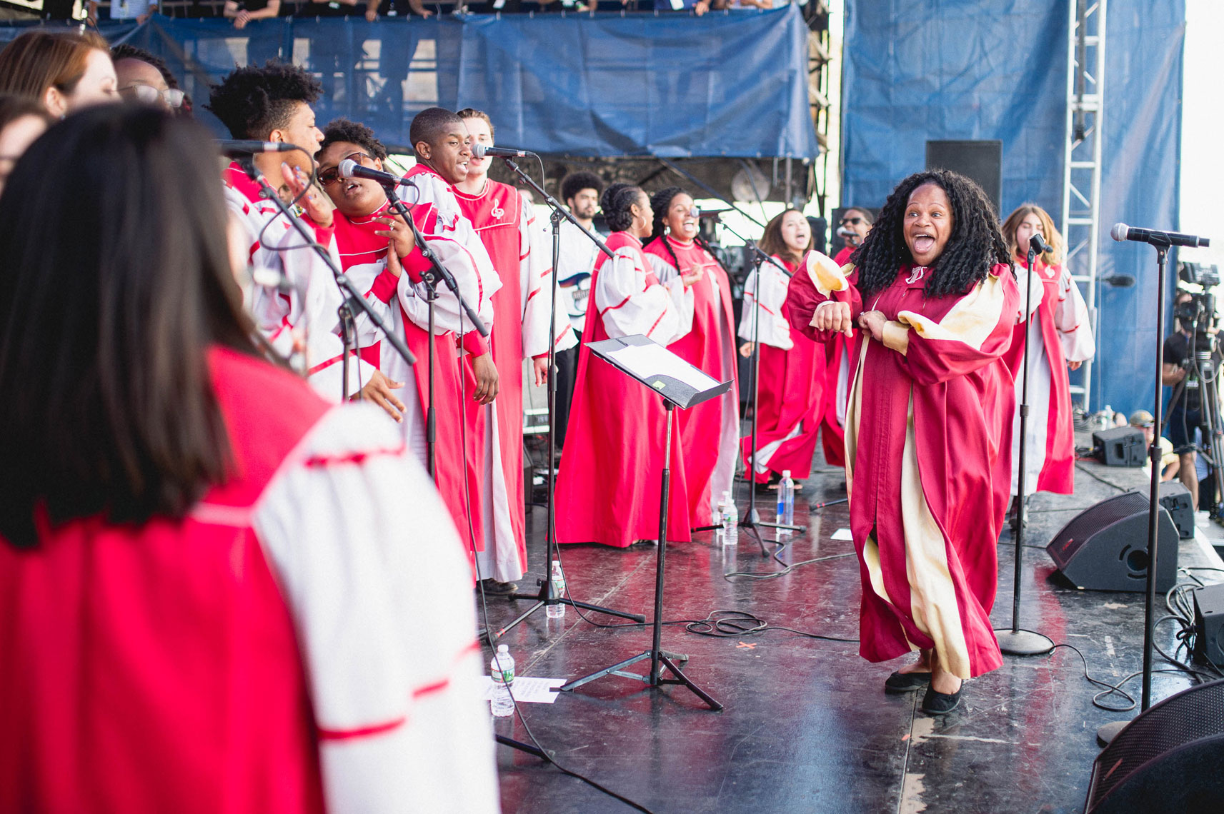 Berklee Gospel & Roots Choir Newport Folk 2016