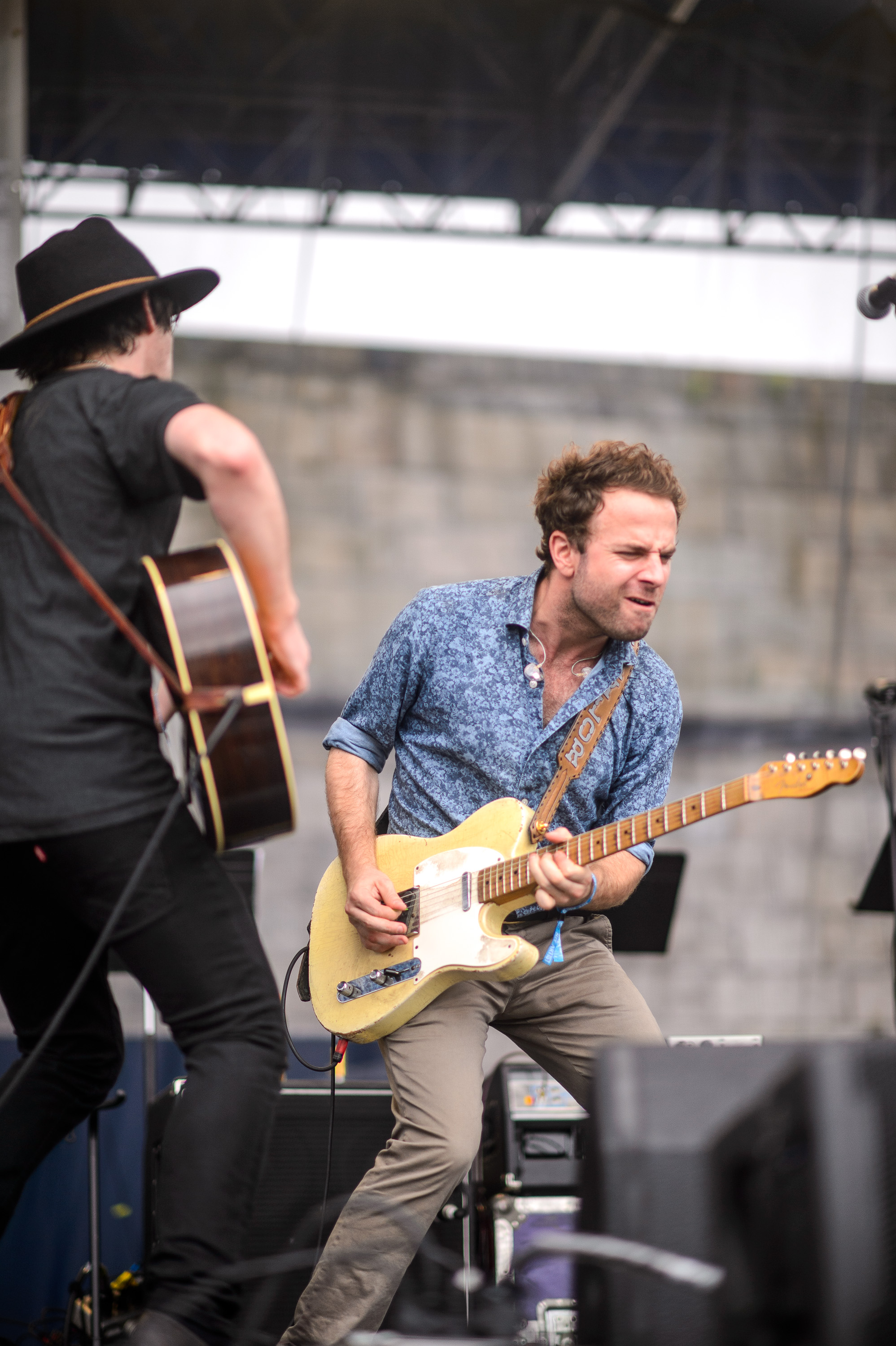 Conor Oberst performs at the 2014 Newport Folk Festival-2