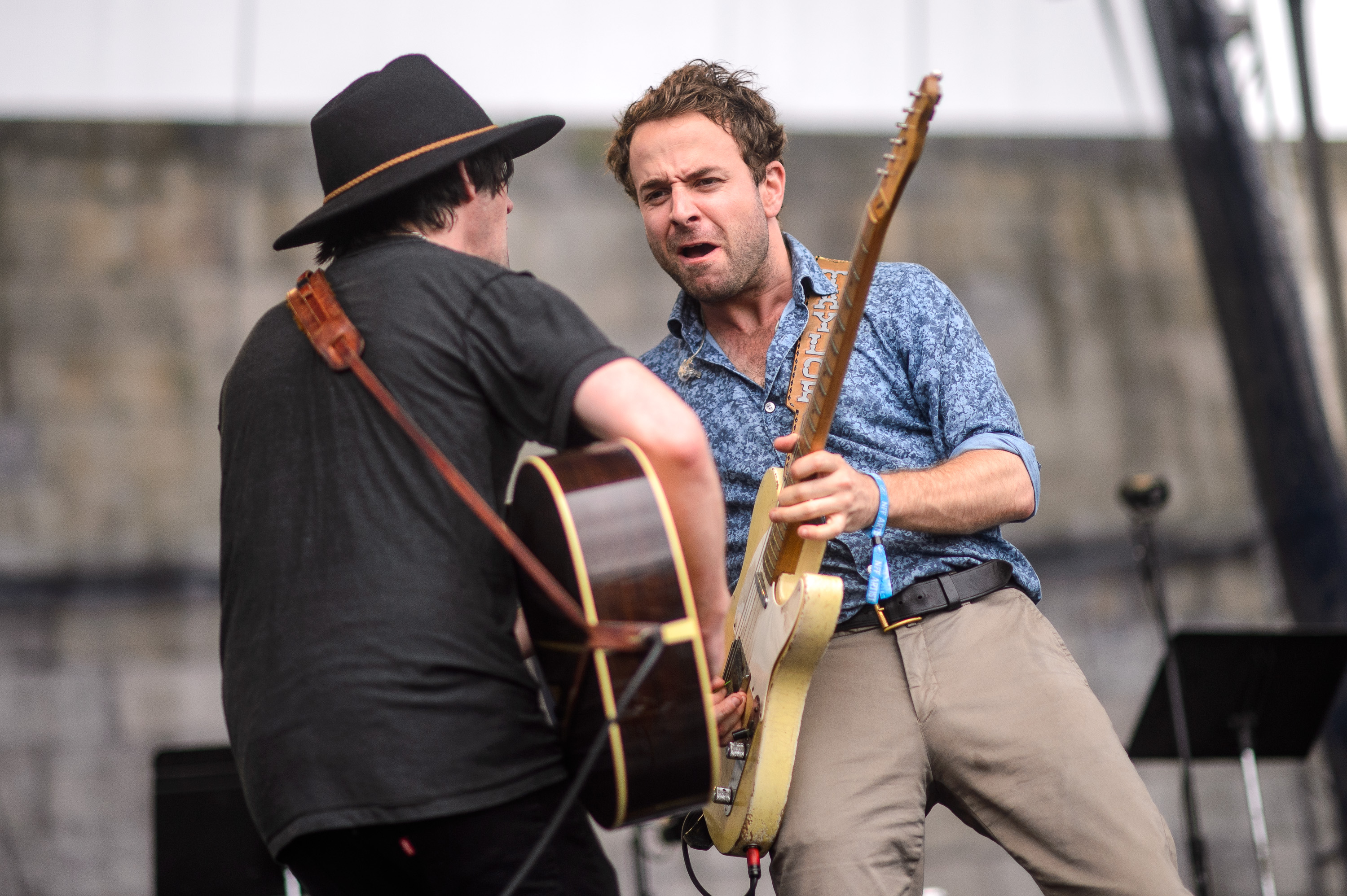 Conor Oberst performs at the 2014 Newport Folk Festival-5