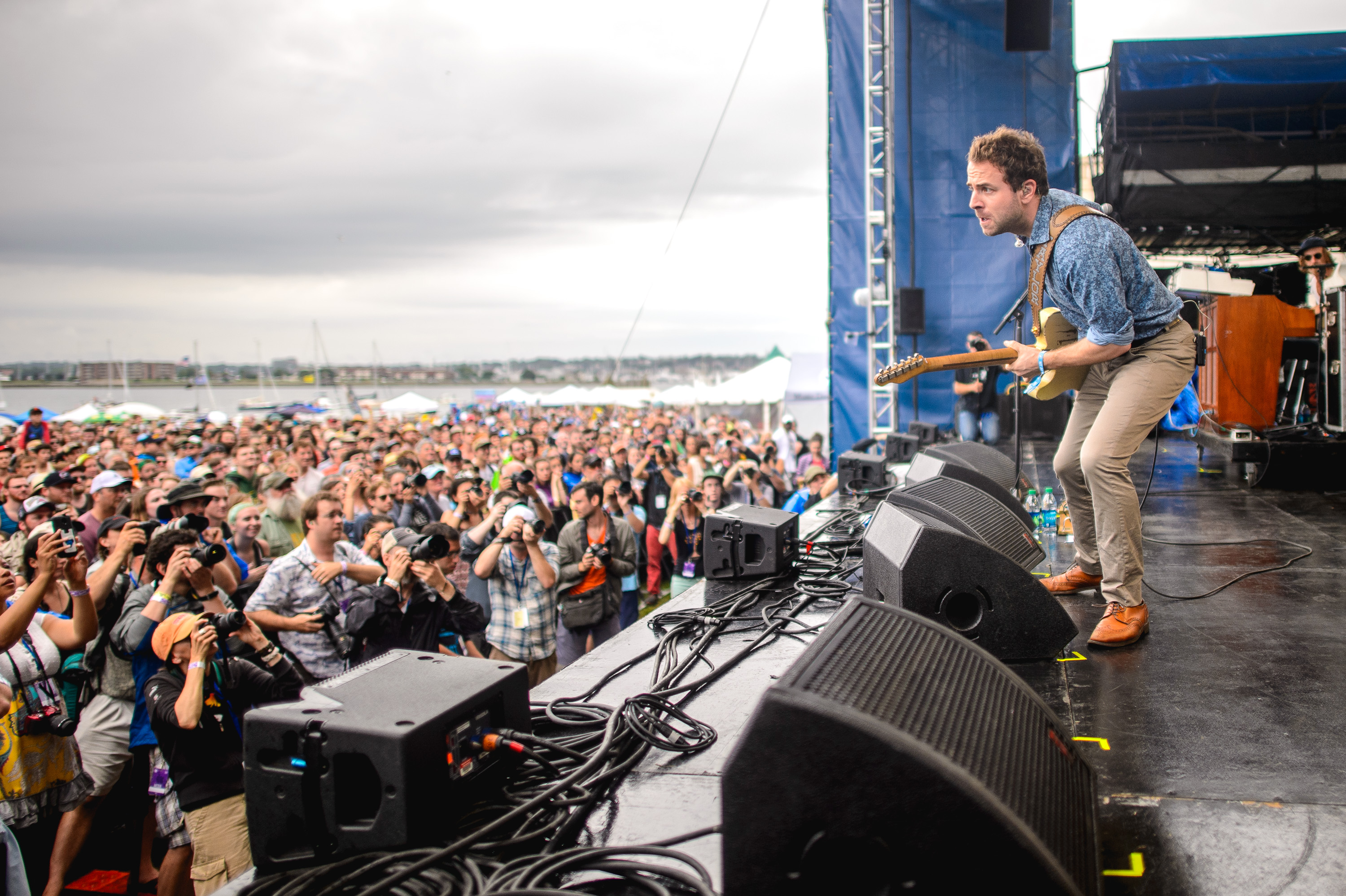 Dawes performs at the 2014 Newport Folk Fest-7