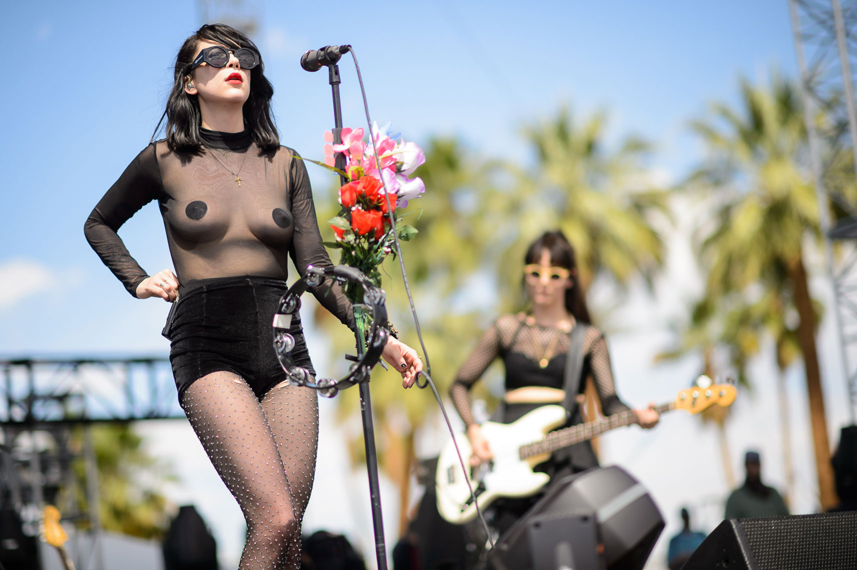 Dum Dum Girls at Coachella 2014