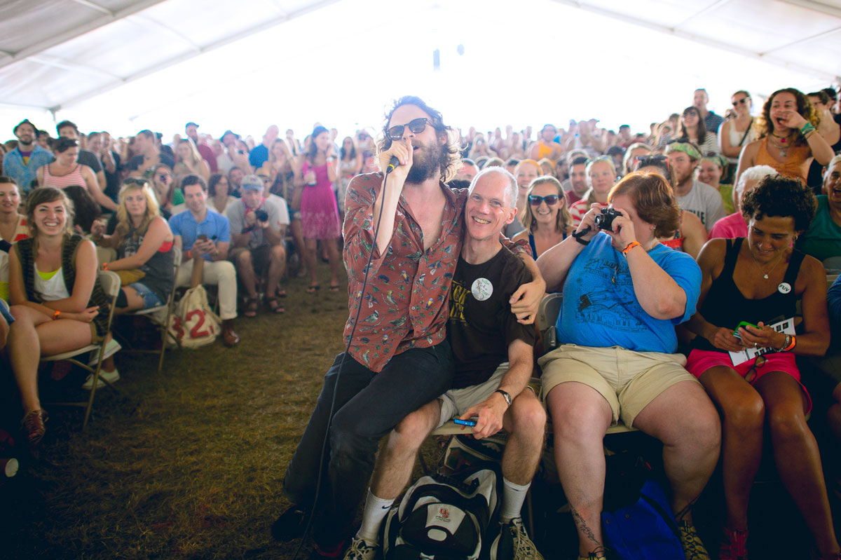 Father John Misty at Newport Folk