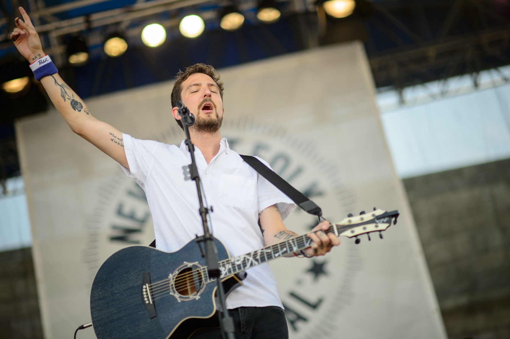 Frank-Turner-&-The-Sleeping-Souls-performs-at-the-2013-Newport-Folk-Festival
