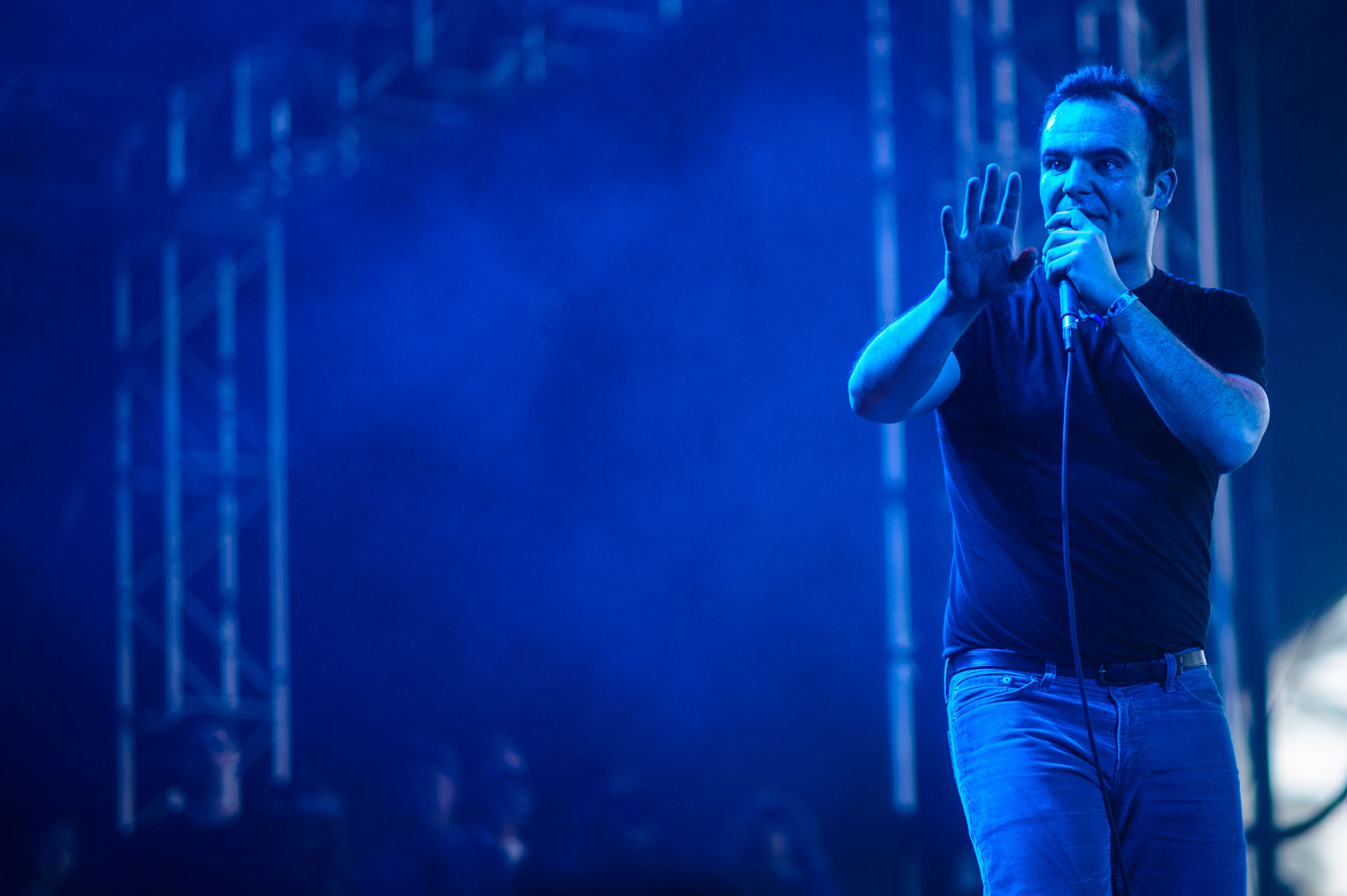 Future Islands at Coachella 2014