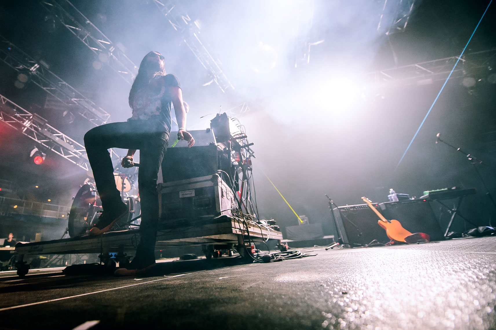 Ghostland-Observatory-plays-the-Asheville-Civic-Center-at-Moogfest-on-Sunday,-October-30,-2011-4