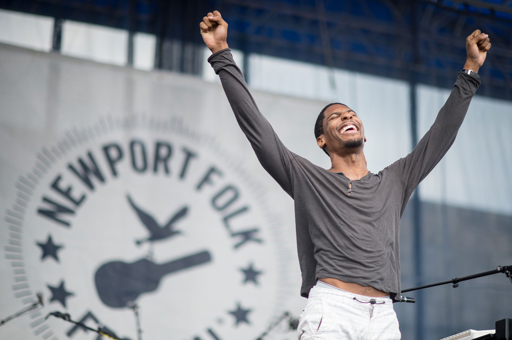 Jon Batiste and Stay Human at Newport Folk Festival