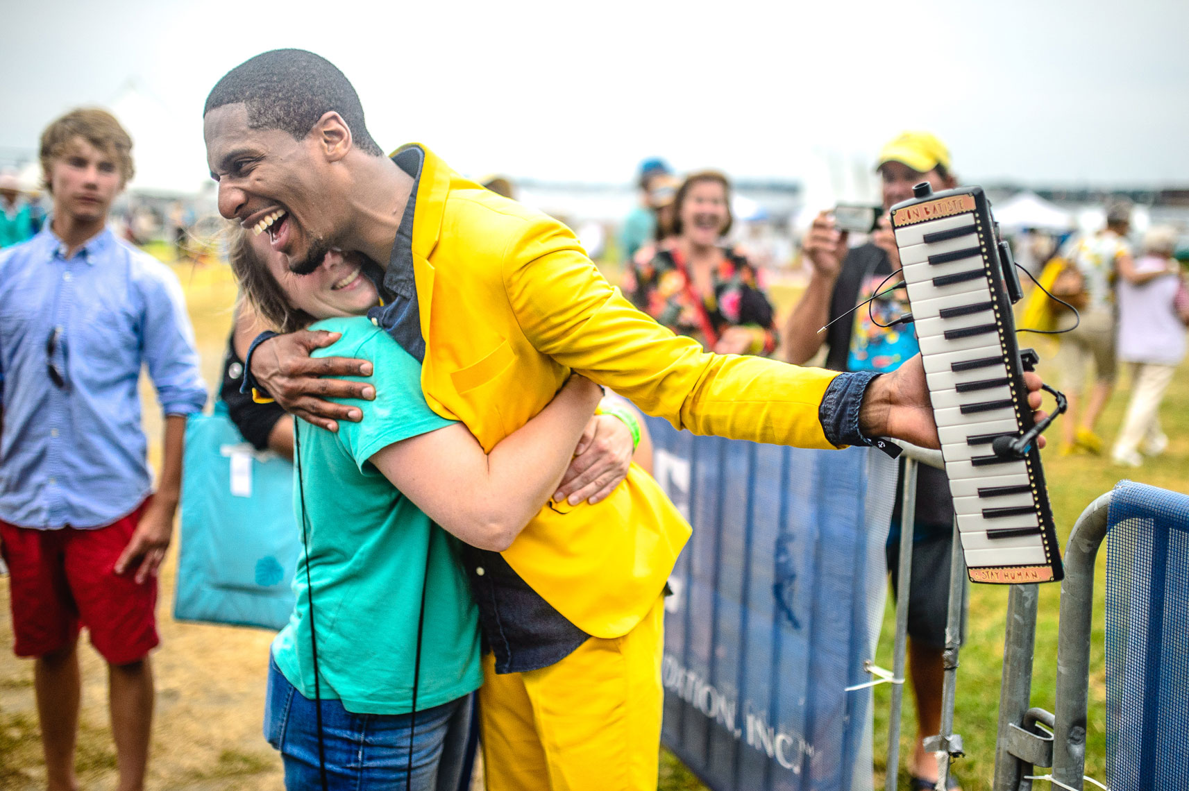 Jon Batiste and Stay Human at Newport Jazz