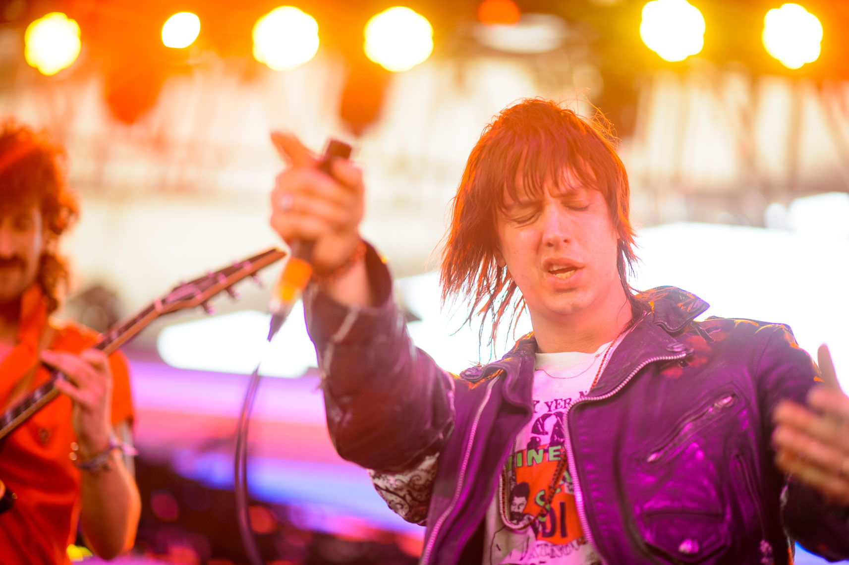 Julian Casablancas at Coachella 2014