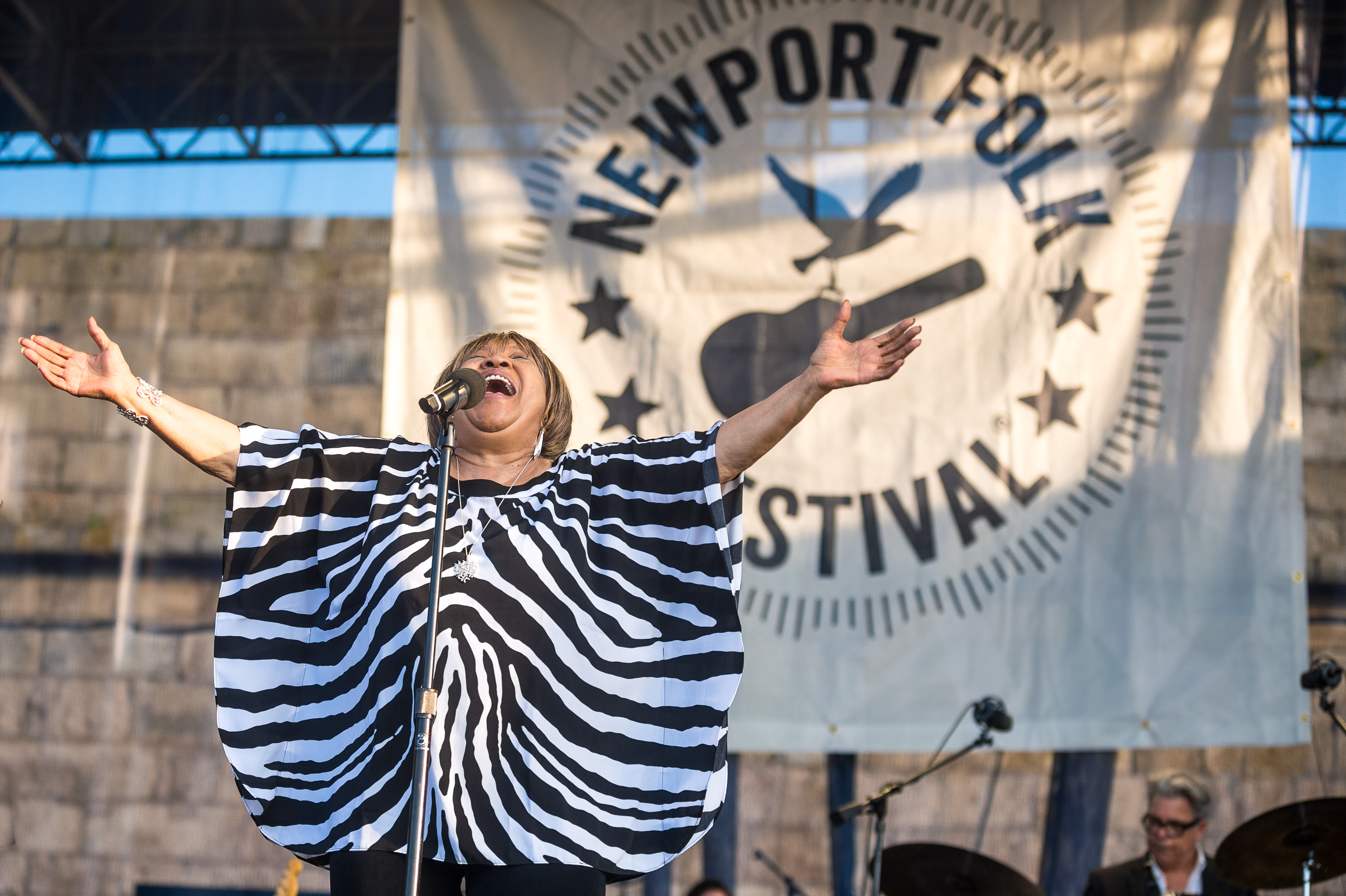Mavis Staples performs at the 2014 Newport Folk Fest-4