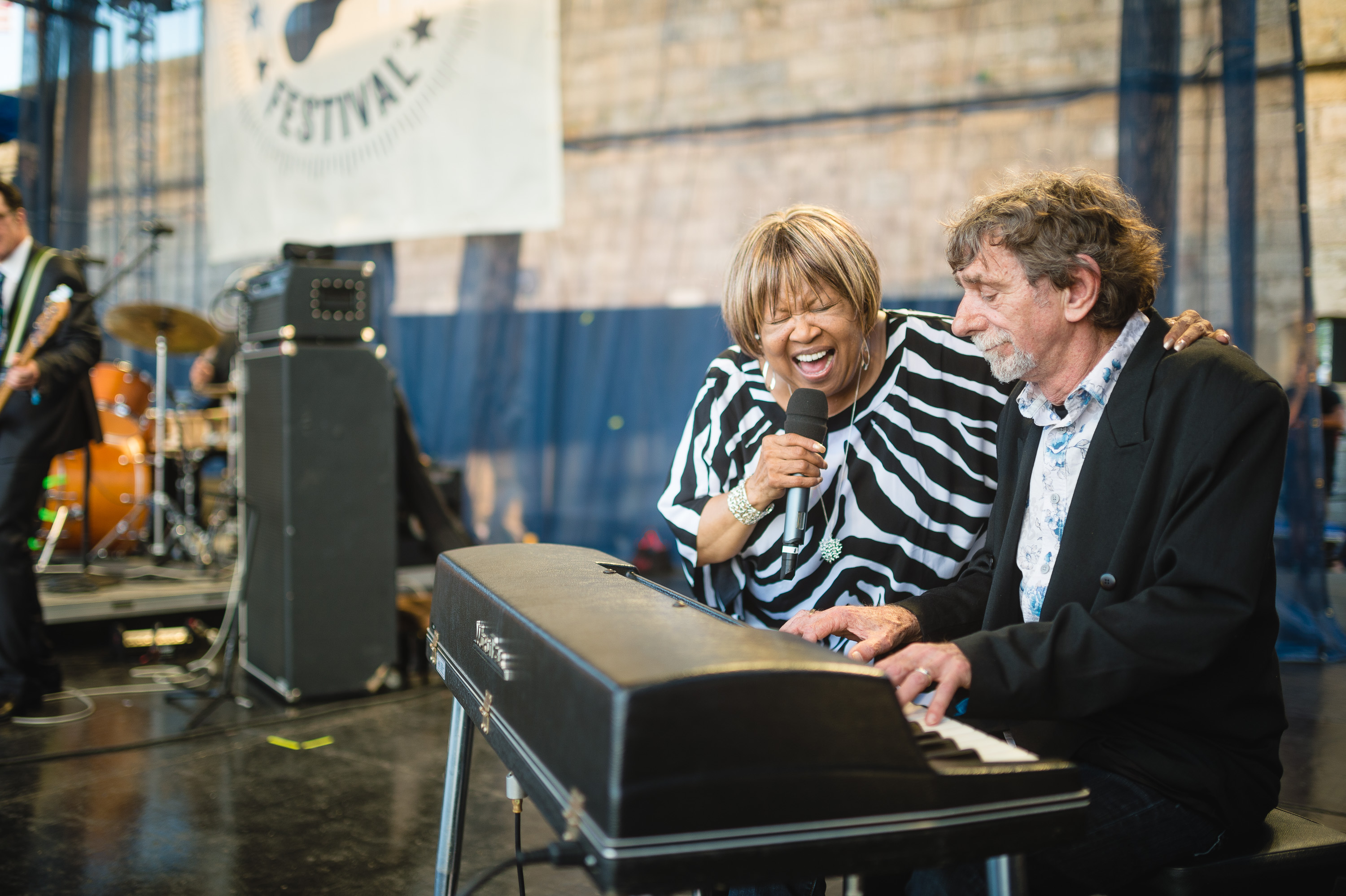 Mavis Staples performs at the 2014 Newport Folk Fest-7