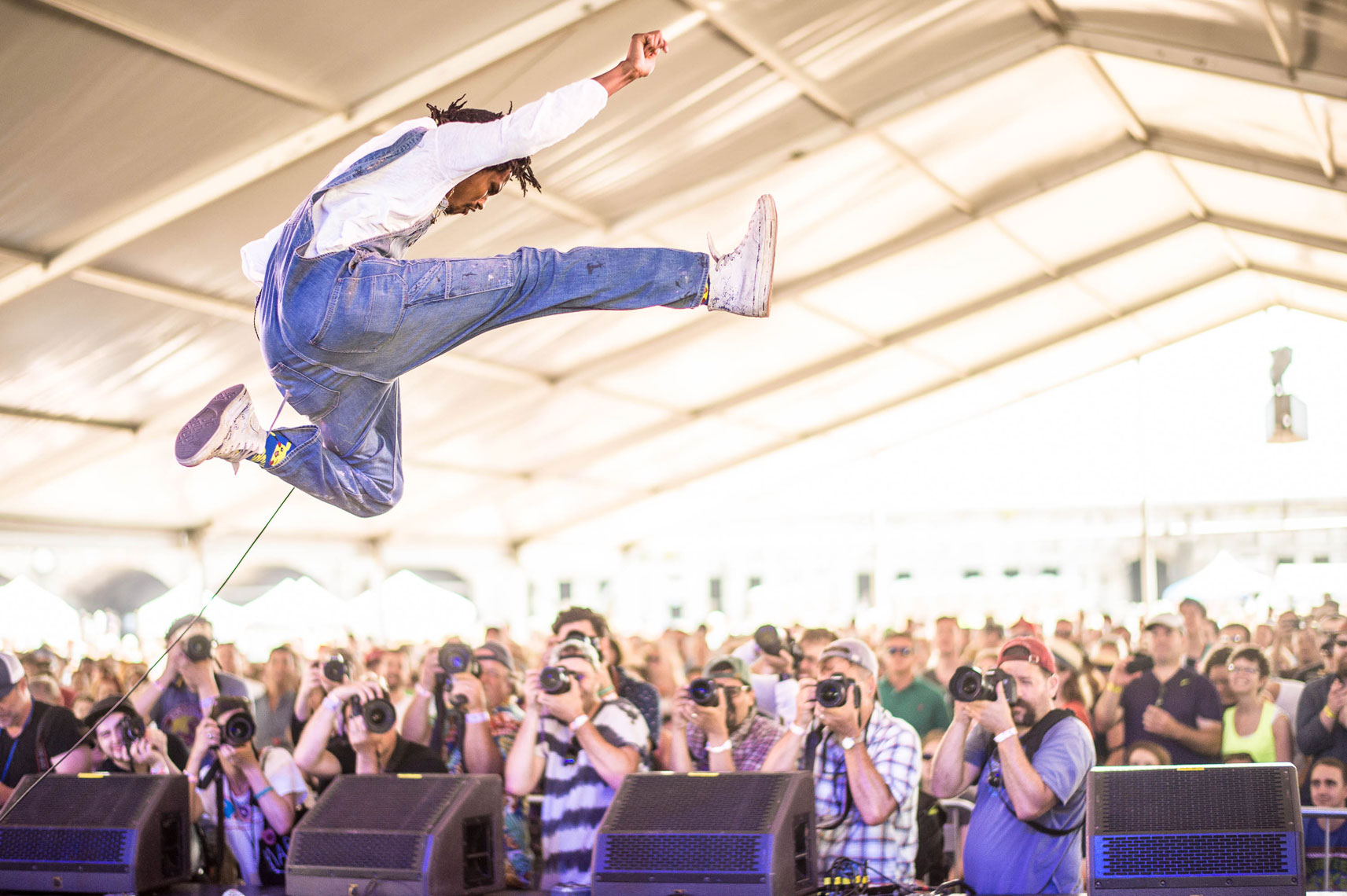 Raury at Newport Folk Festival