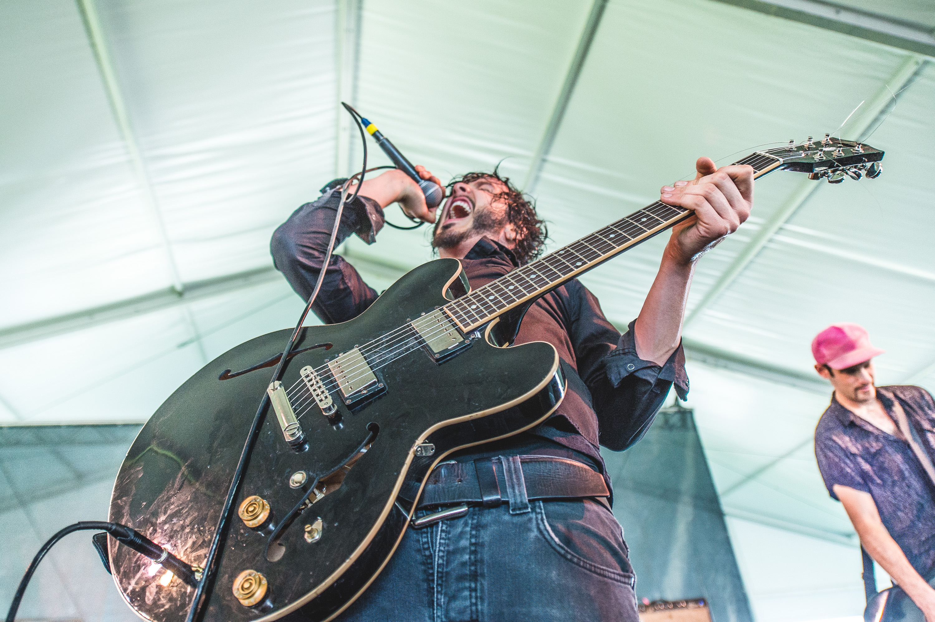 Reignwolf performs at the 2014 Newport Folk Festival-5