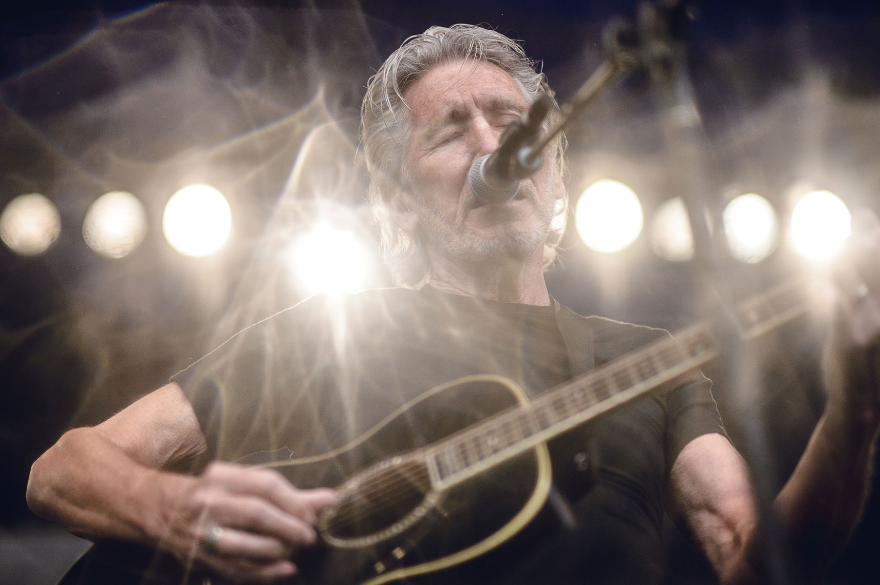 Roger Waters at Newport Folk Festival