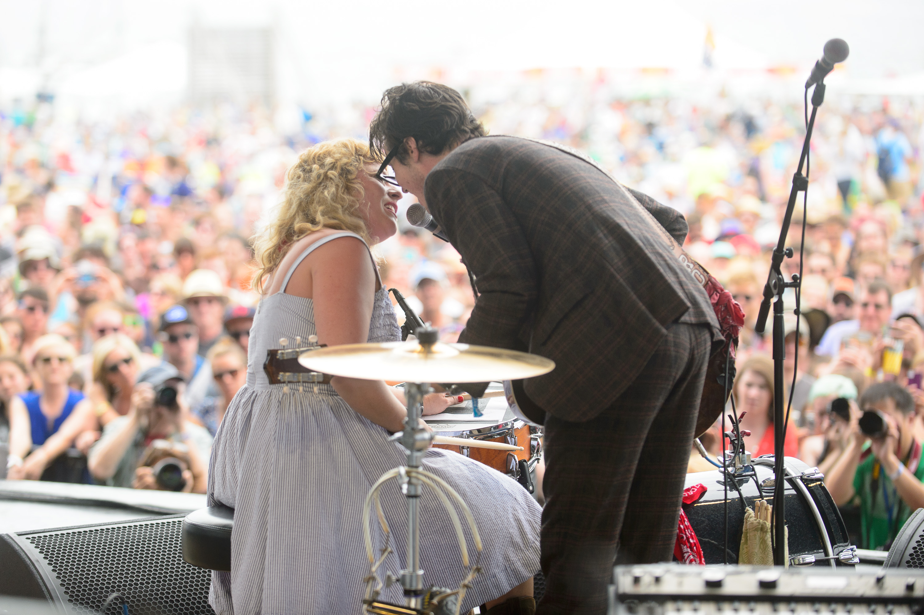 Shovels & Rope performs at the 2014 Newport Folk Festival-2