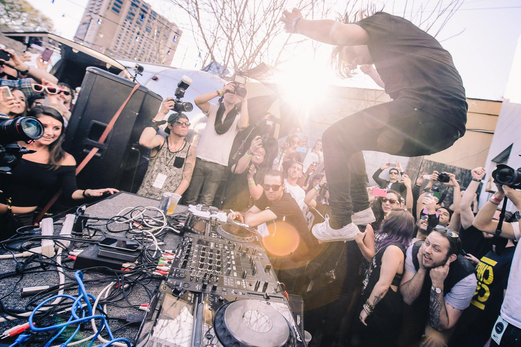 Skrillex at SXSW