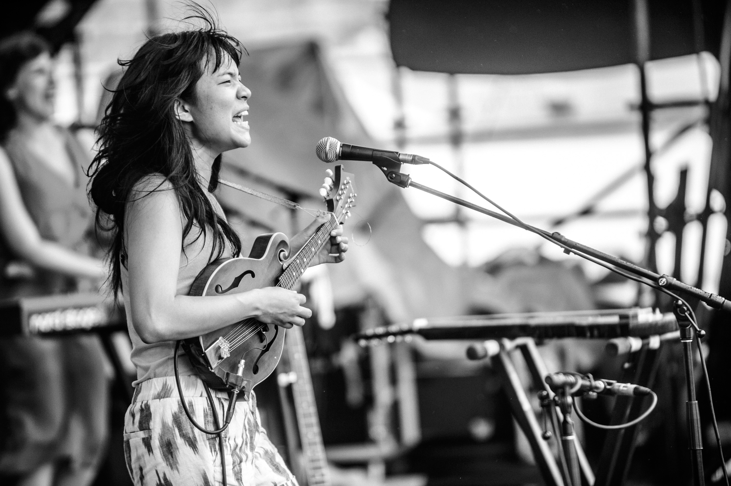 Thao & The Get Down Stay Down performs at the 2014 Newport Jazz Festival-2