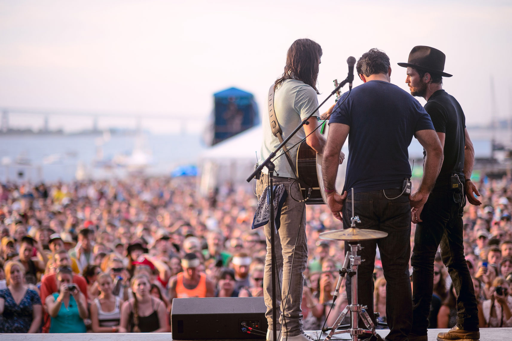 The Avett Brothers at Newport Folk