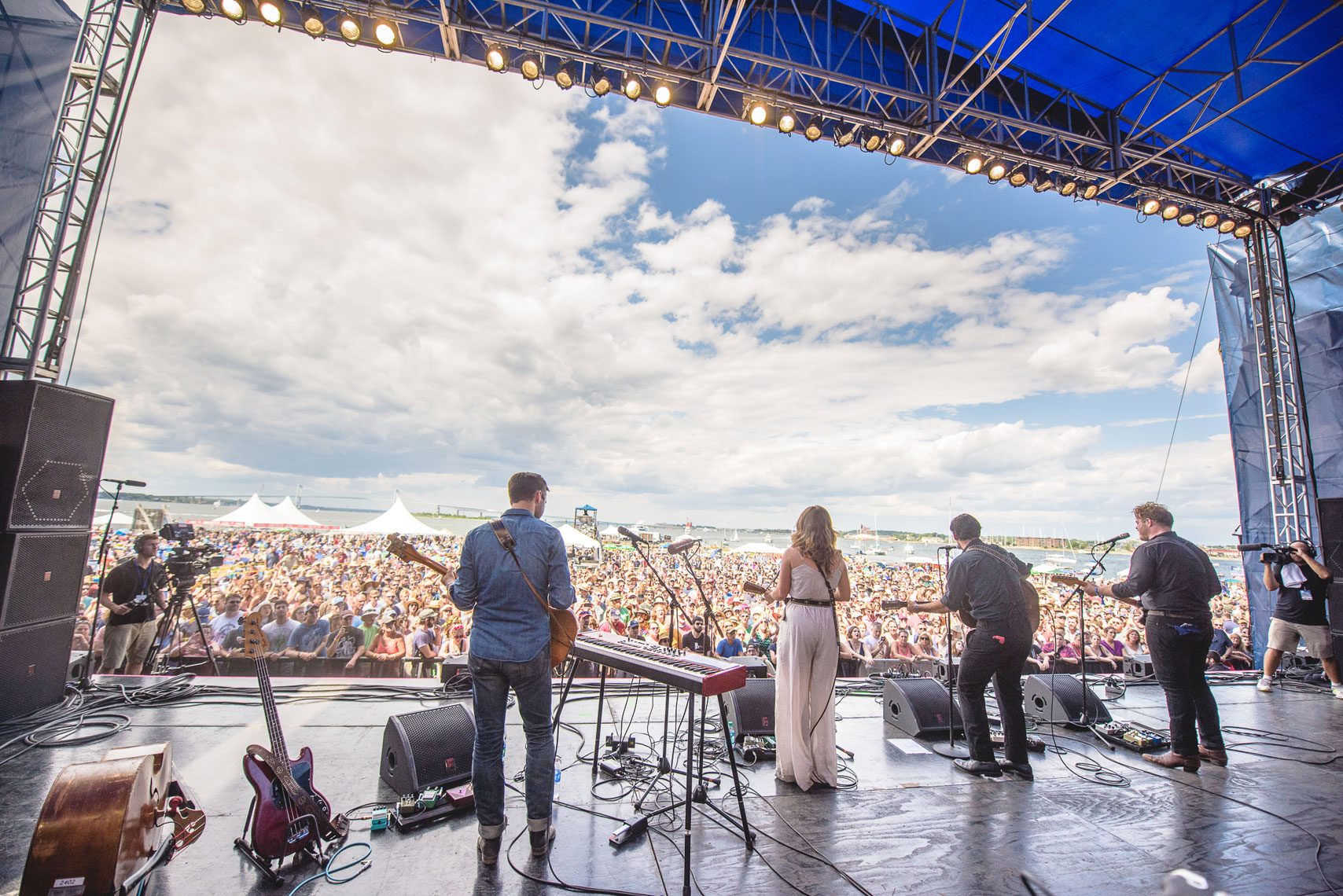 The Lone Bellow at Newport Folk