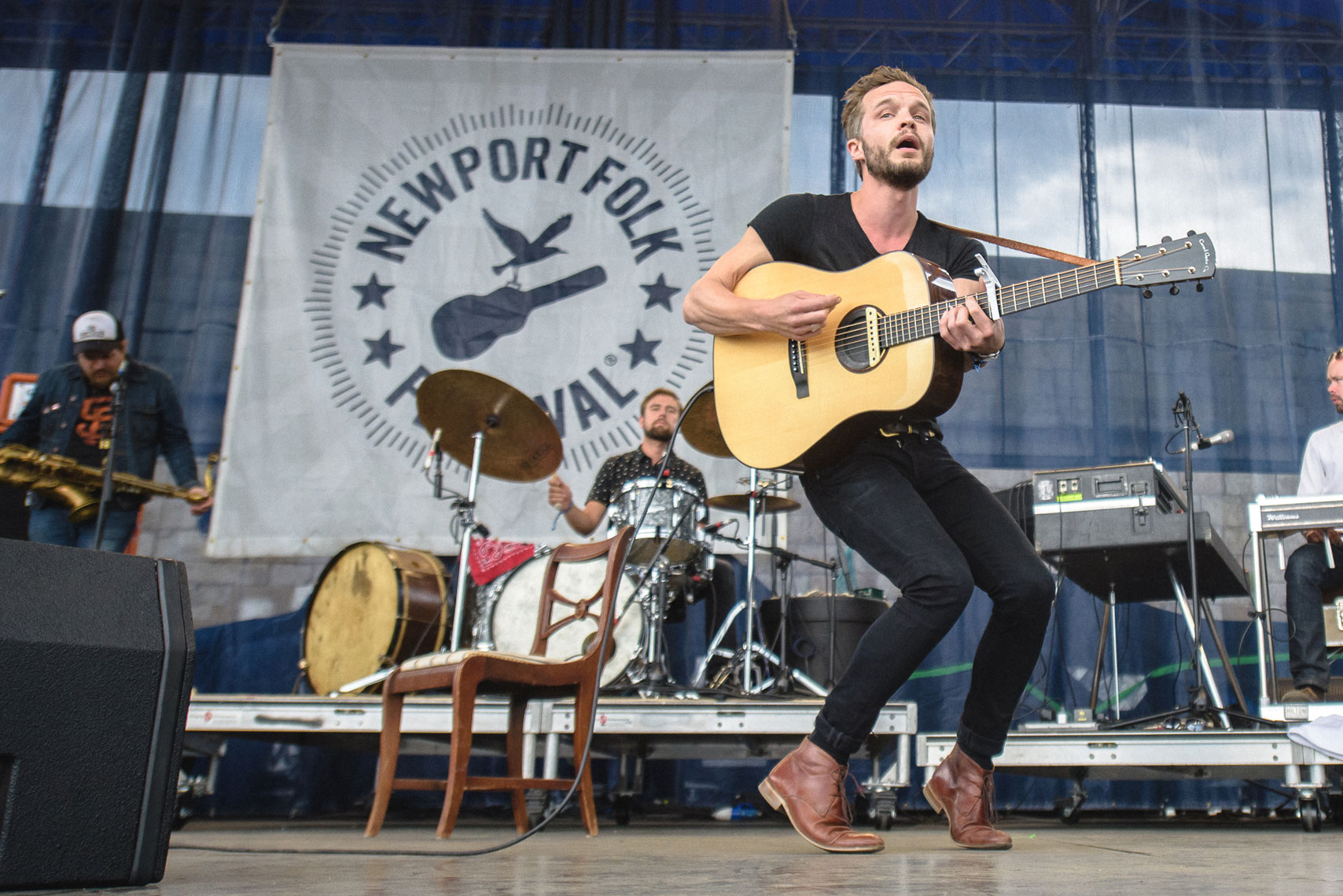 The Tallest Man On Earth at Newport Folk