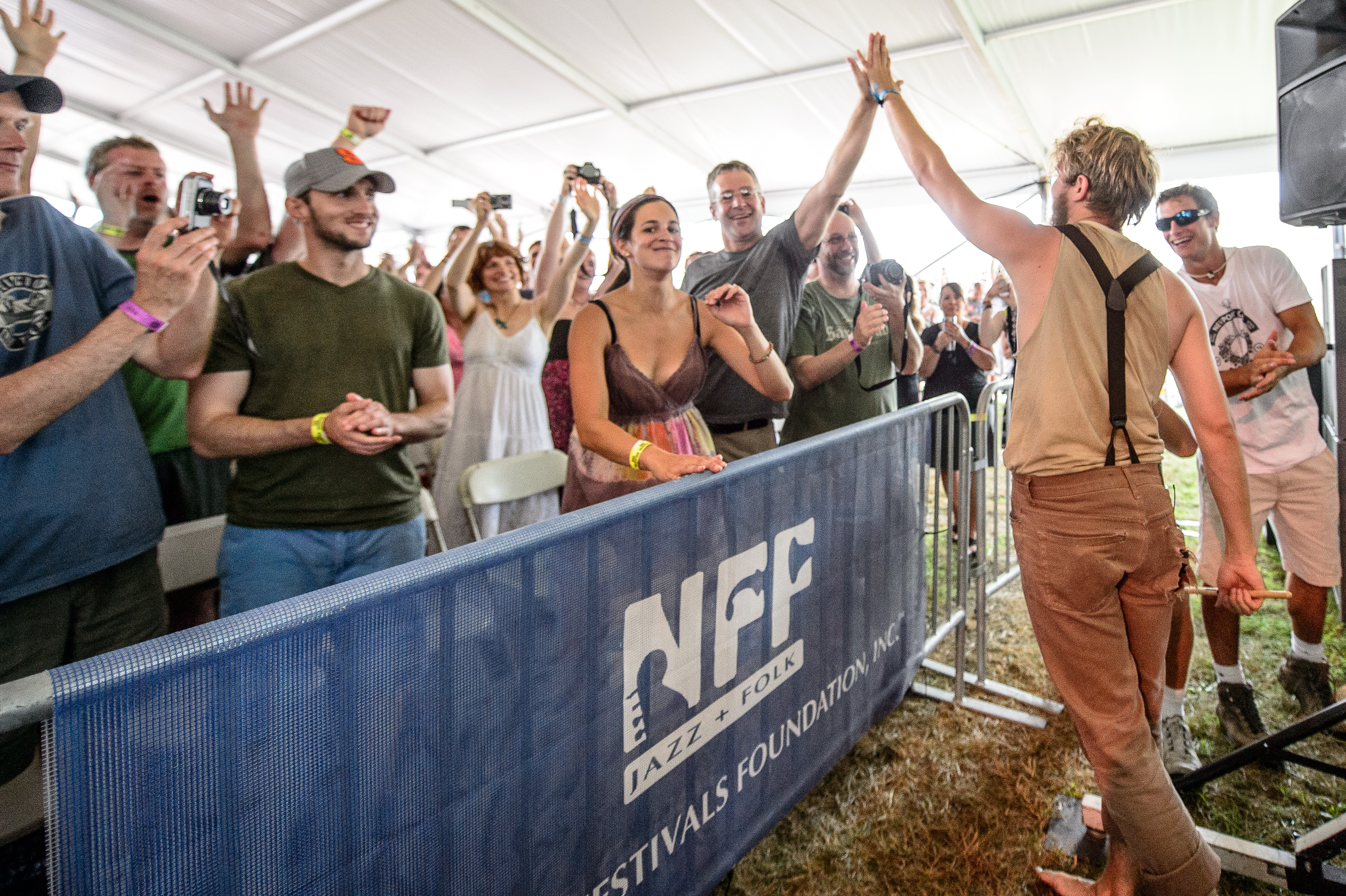 The Oh Hellos perform at the 2014 Newport Folk Festival-4